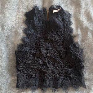 Zara Trafaluc lace blouse